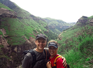 About Us - Hank & Lynne - Drakensberg - South Africa-370x270