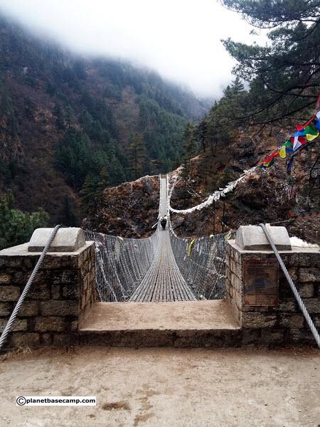 Everest Base Camp Trek - Hanging Bridge