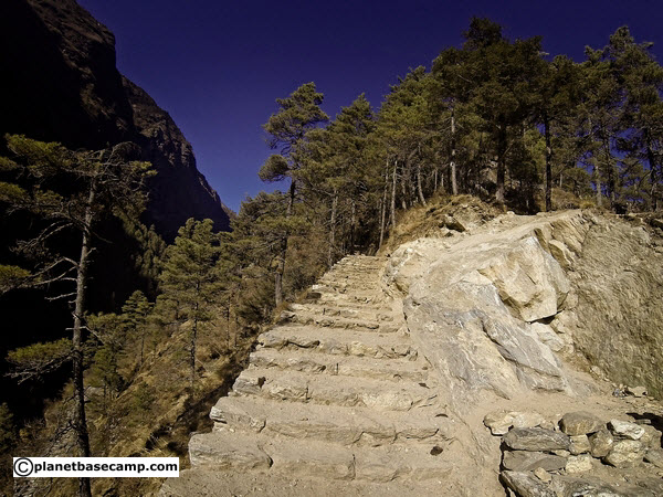 Everest Base Camp Trek Stairs