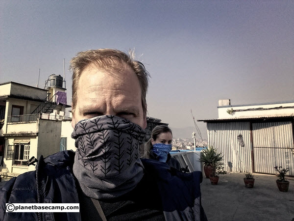 Kathmandu Air Pollution - Wear A Buff