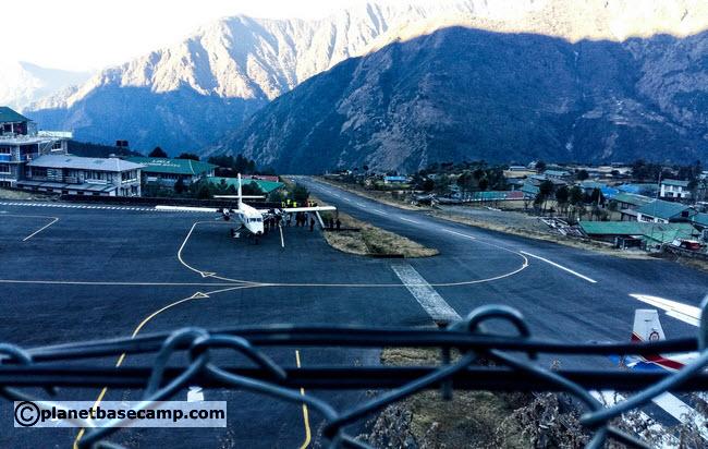 Tenzing-Hillary Airport in Lukla