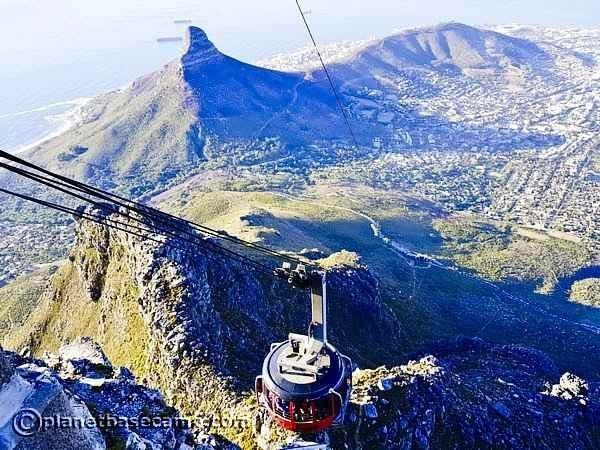 Cape Town Cableway - View From The Top