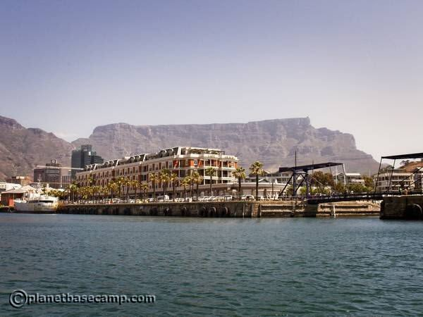 Table Mountain From The Harbour