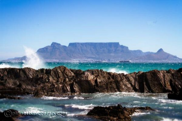 Table Mountain View From Bloubergstrand