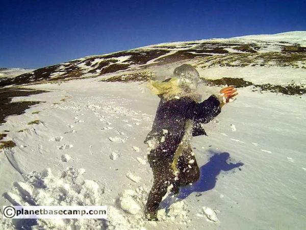 Akureyri - Iceland - Playing In Snow