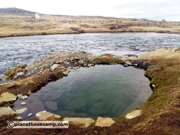 Fosslaug Hot Spring - Iceland