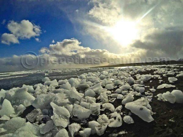Glacier Lagoon Diamond Beach Iceland