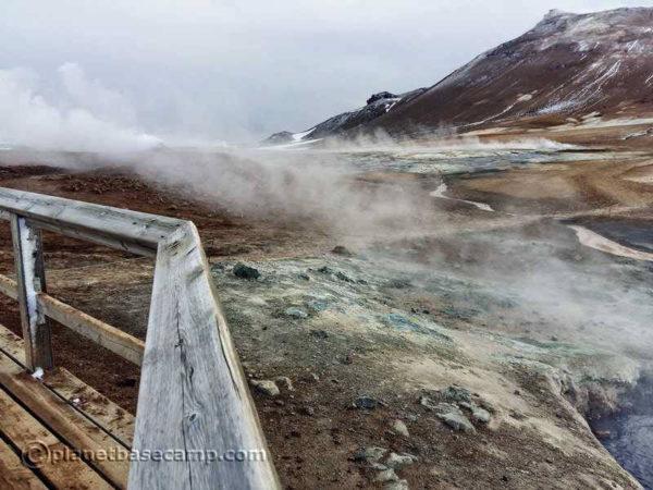 Hverir Fumaroles Myvatn Iceland