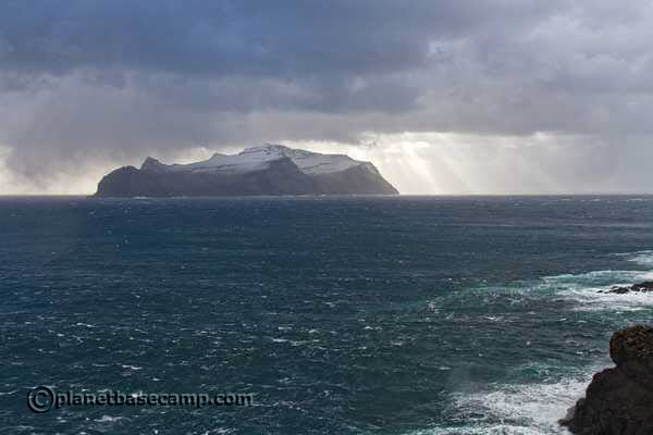 Gasadalur - Faroe Islands - View of Mykines Island