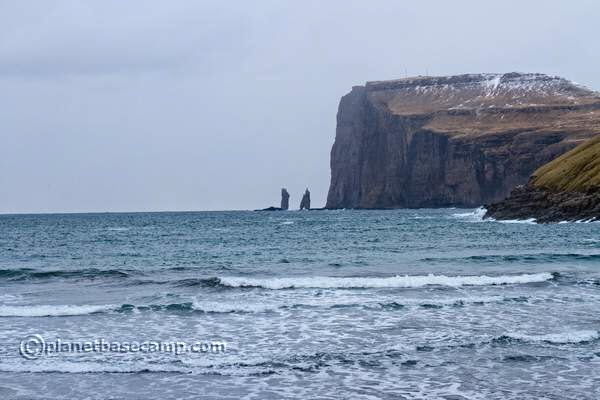 Tjornuvik - Faroe Islands - View of Risin og Kellingin