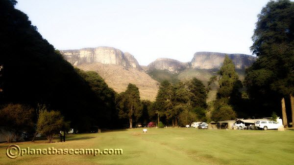Drakensberg - Mahai Campsite - Royal Natal National Park