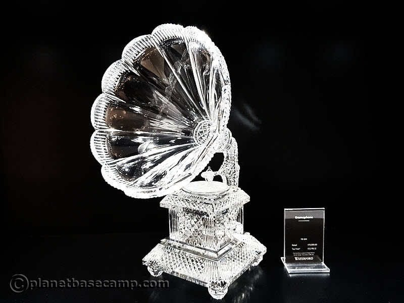 House of Waterford - Gramophone Crystal