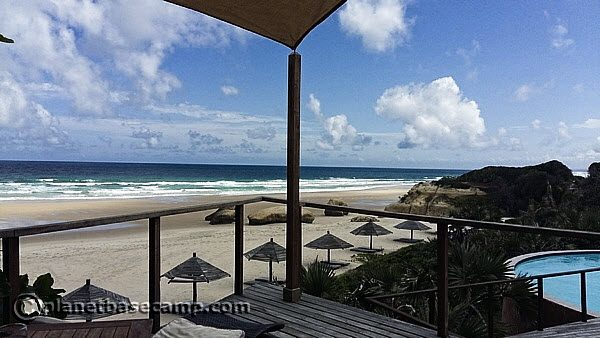 Massinga Beach - Beach Bar