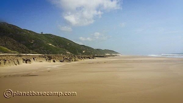 Mozambique Coast Lines - Long Beaches