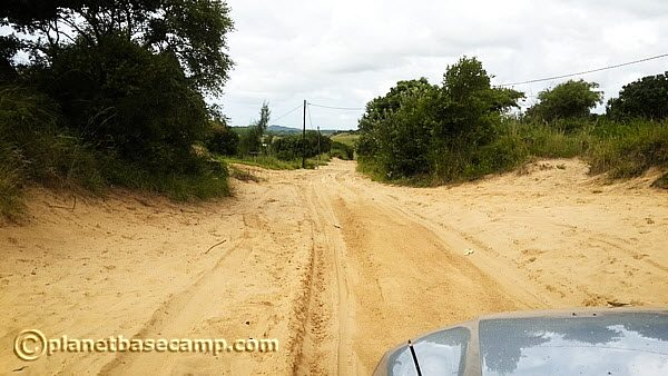 Mozambique - Road To Ponta Do Oura Requires 4x4