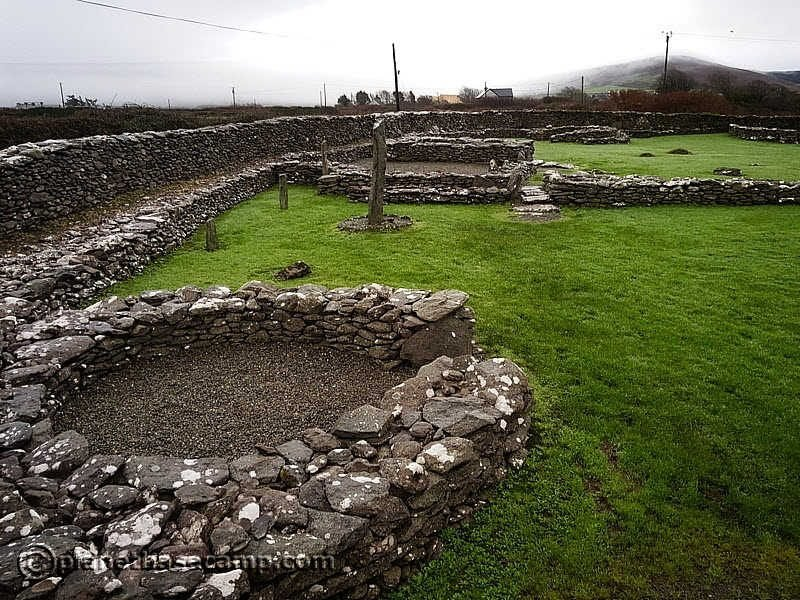 Reask Monastic Settlement - Dingle Peninsula - Ireland
