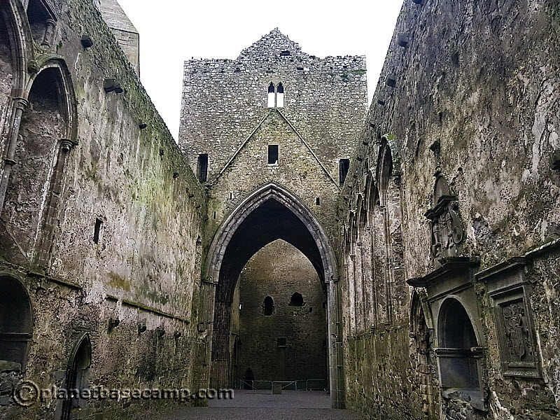 Rock of Cashel - Inside